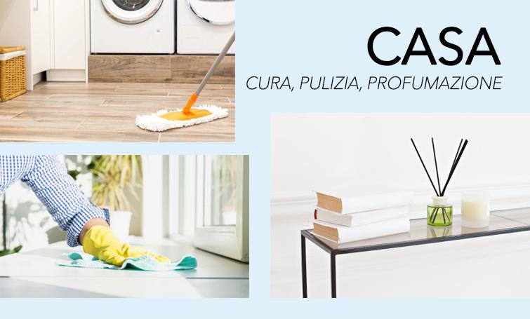 Casa cura, pulizia e profumazione