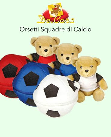 Peluche Squadre Calcio