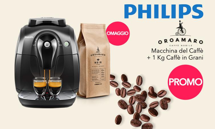 Philips Promo macchina caffè