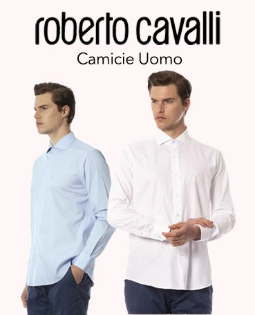 Roberto Cavalli camicie uomo